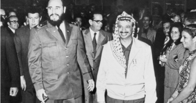 Yasser Arafat and Fidel Castro