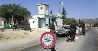 Algeria Morocco border