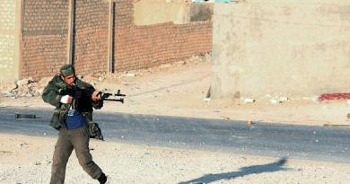 Libyan Dawn militia fighter
