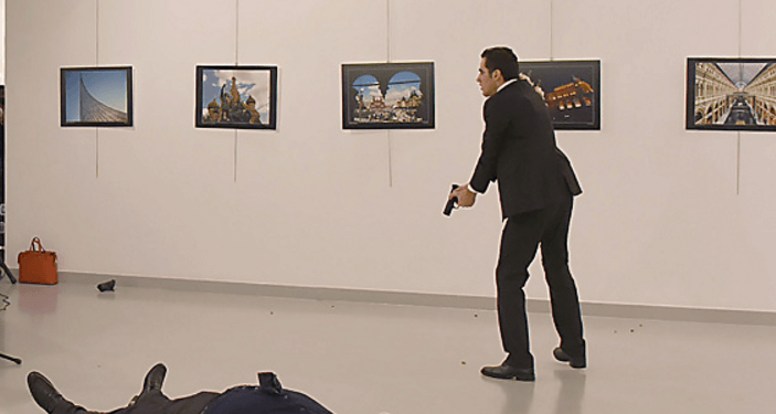 Russia ambassador assassination