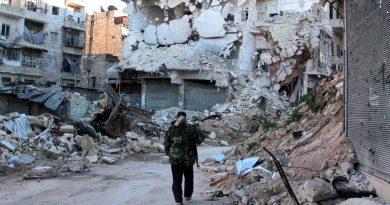 Aleppo Karm al Jabal neighborhood