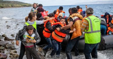 Asylum seekers in Greece