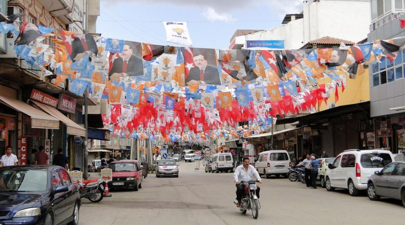 Election Banners, Kilis - Adam Jones