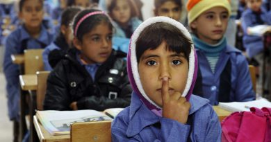 Syrian refugee children - Mafraq, Jordan - UN Photo/Mark Garten.